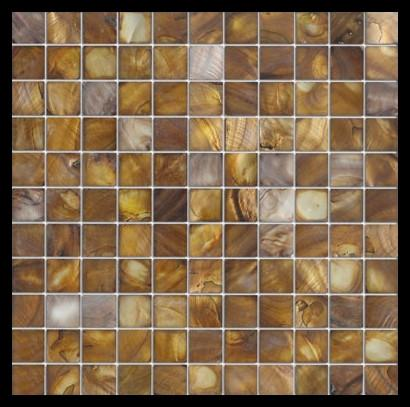 "Premium Quality Onyx Mother of Pearl Sea Shell Mosaic Tile 1"" x 1"" ( on 12"" x 12"" Mesh)"