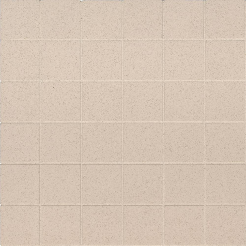 MSI Optima Cream 12 in. x 12 in. x 10mm Matte Porcelain Mesh-Mounted Mosaic Tile (11 sq. ft. / case)