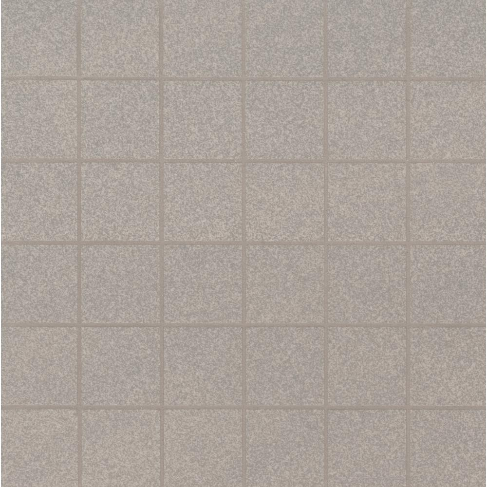 MSI Optima Grey 12 in. x 12 in. x 10mm Polished Porcelain Mesh-Mounted Mosaic Tile (11 sq. ft. / case)