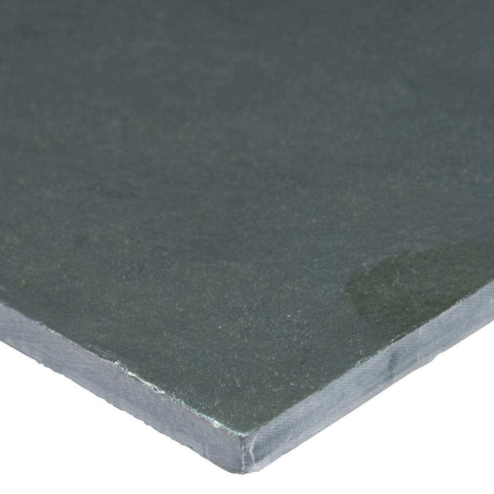 MS International Montauk Blue 16 in. x 16 in. Gauged Slate Floor and Wall Tile