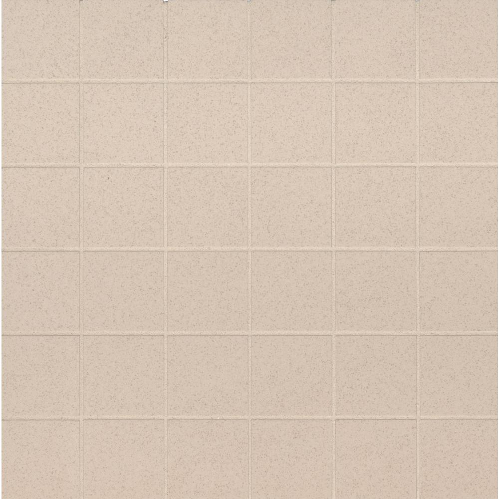 MSI Optima Cream 12 in. x 12 in. x 10mm Polished Porcelain Mesh-Mounted Mosaic Tile (11 sq. ft. / case)