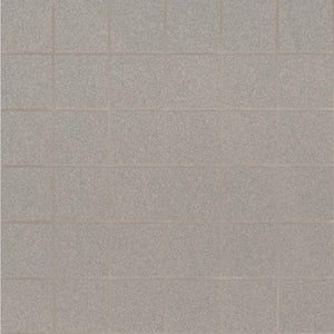 MSI Optima Grey 12 in. x 12 in. x 10mm Matte Porcelain Mesh-Mounted Mosaic Tile (11 sq. ft. / case)