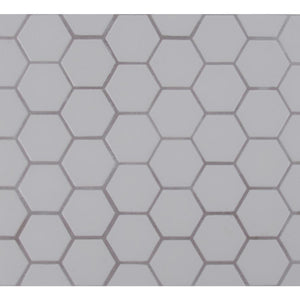 MSI Retro Hexo Gray 12.6 in. x 11.02 in. x 6mm Porcelain Mesh-Mounted Mosaic Tile