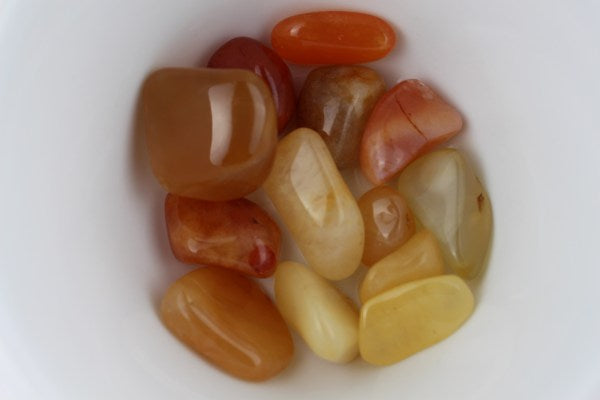 Carnelian Agate or Yellow Quartz