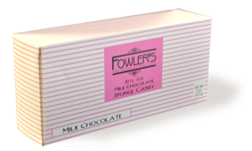 Fowler's Milk Chocolate Sponge Candy