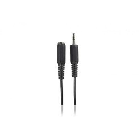 Cable de audio 3.5mm hembra a 3.5mm macho