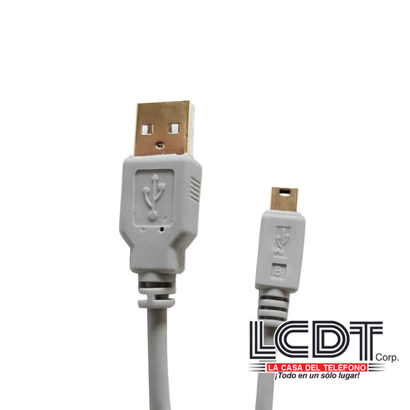 "Cable ""USB 2.0 A"" a ""mini USB"", M-256HQ"
