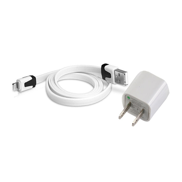 Cargador de pared USB con cable para iphone - M-279