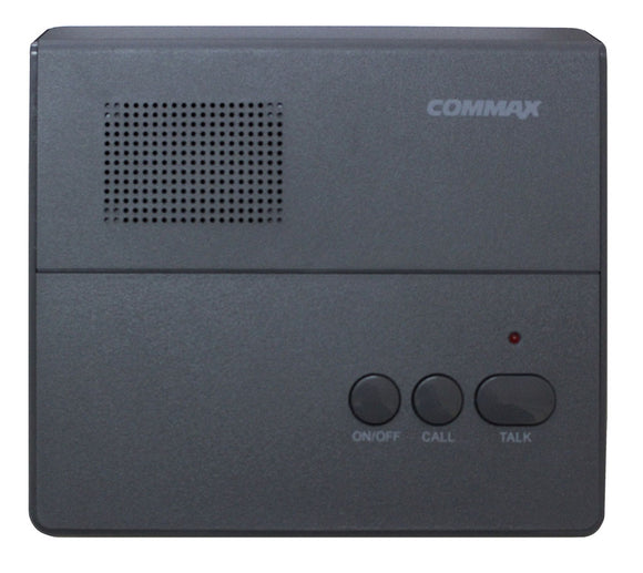 Intercomunicador MASTER Commax CM-801, sistema 1 a 1