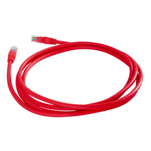 LCDT CPU5B14R01 Patch Cord UTP CAT5e Rojo de 1M