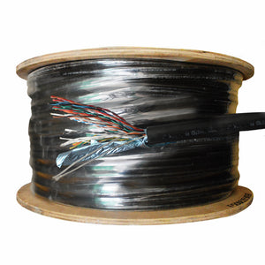 Pie de cable 25 pares FTP CAT5, intemperie - KUWES F5ODPESH25P
