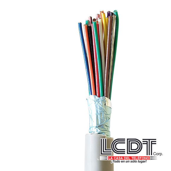 Pie de cable blindado 25C 22AWG – KUWES KS-22A-25C