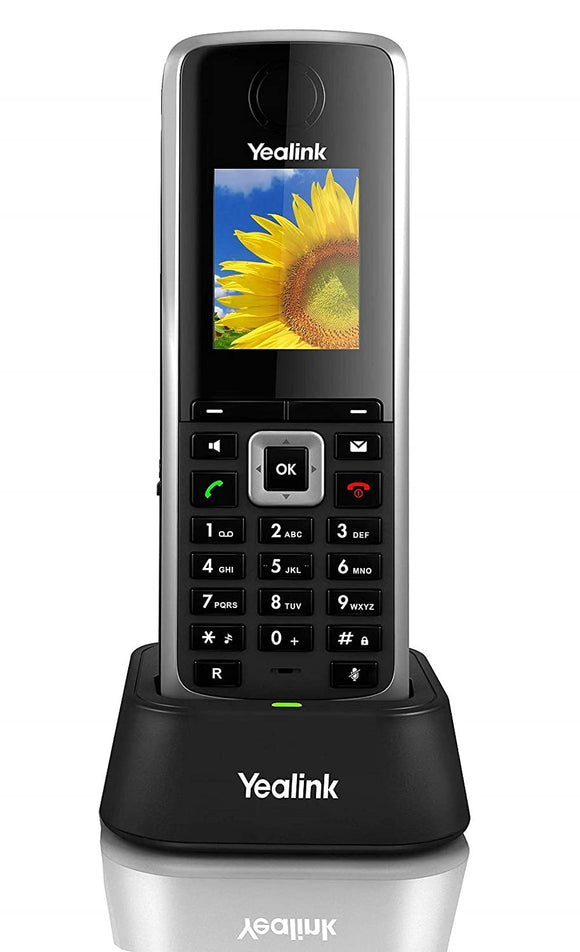 Teléfono IP DECT inalámbrico W52H, audio en HD.  Para registrarse en estación base del W52P, W60P