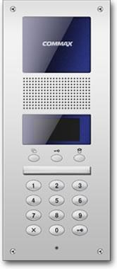 Botonera digital de edificio DR-2AG para Sistema Audio Gate de Commax.