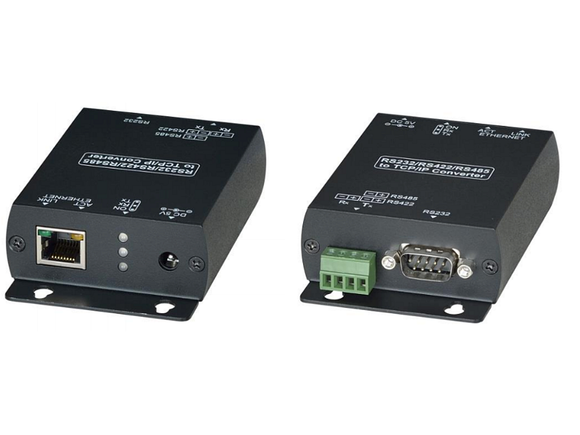 Convertidor de interface serial RS232 / RS422 / RS485 a TCP/IP – RS007 Kuwes