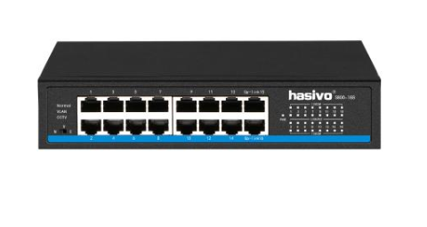 Switch gigabit de 16 puertos, VLAN / CCTV – S800-16G hasivo