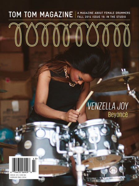 Tom Tom Magazine Issue 19: In The Studio - Drummers | Music | Feminism: Shop Tom Tom