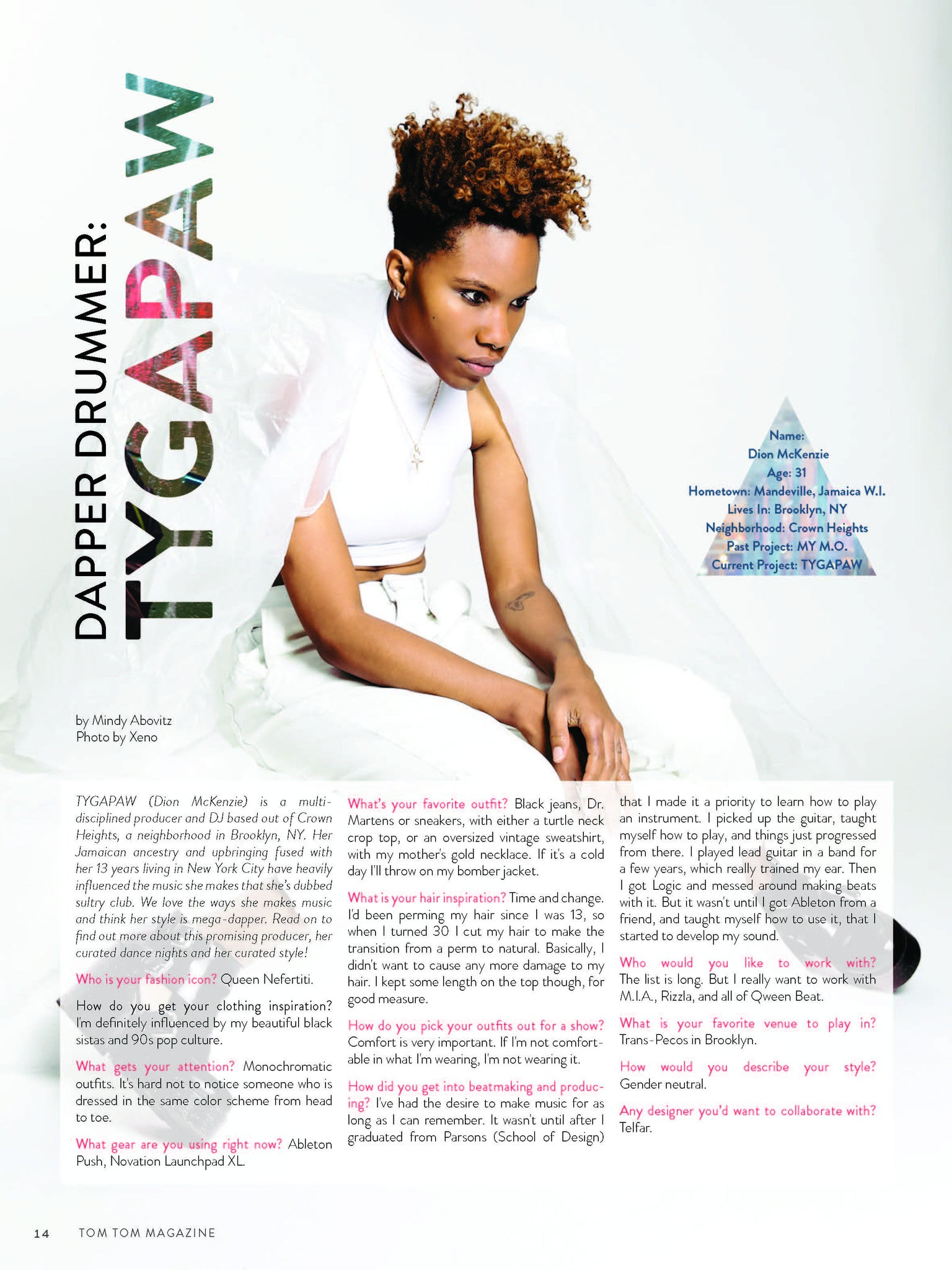 Tom Tom Magazine Issue 24: TIME - Drummers | Music | Feminism: Shop Tom Tom