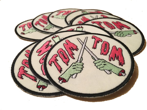 """Drum or Die"" Tom Tom Patch - Drummers 