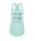 Tom Tom Hand Signals Tank Top - Limited Edition - Drummers | Music | Feminism: Shop Tom Tom