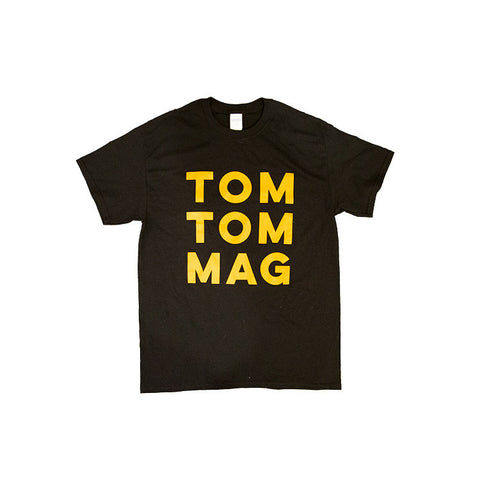 Old School Block Letter Short Sleeve Tee - Drummers | Music | Feminism: Shop Tom Tom