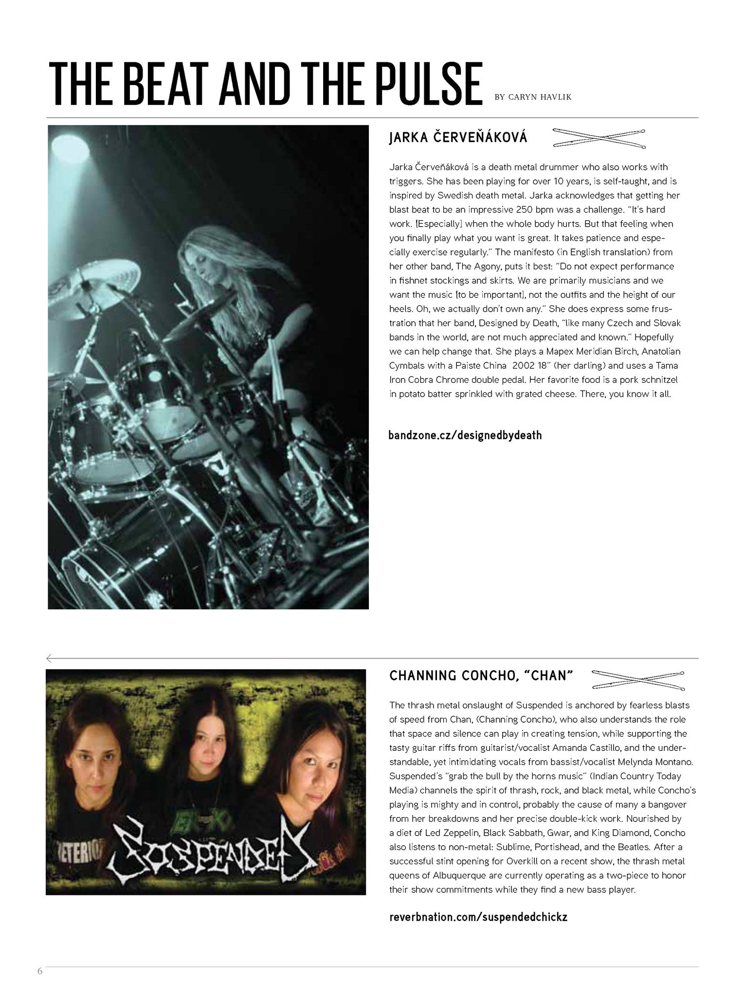 Tom Tom Magazine Issue 13: The Metal issue - Drummers | Music | Feminism: Shop Tom Tom