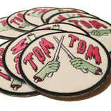 """Drum or Die"" Tom Tom Patch"