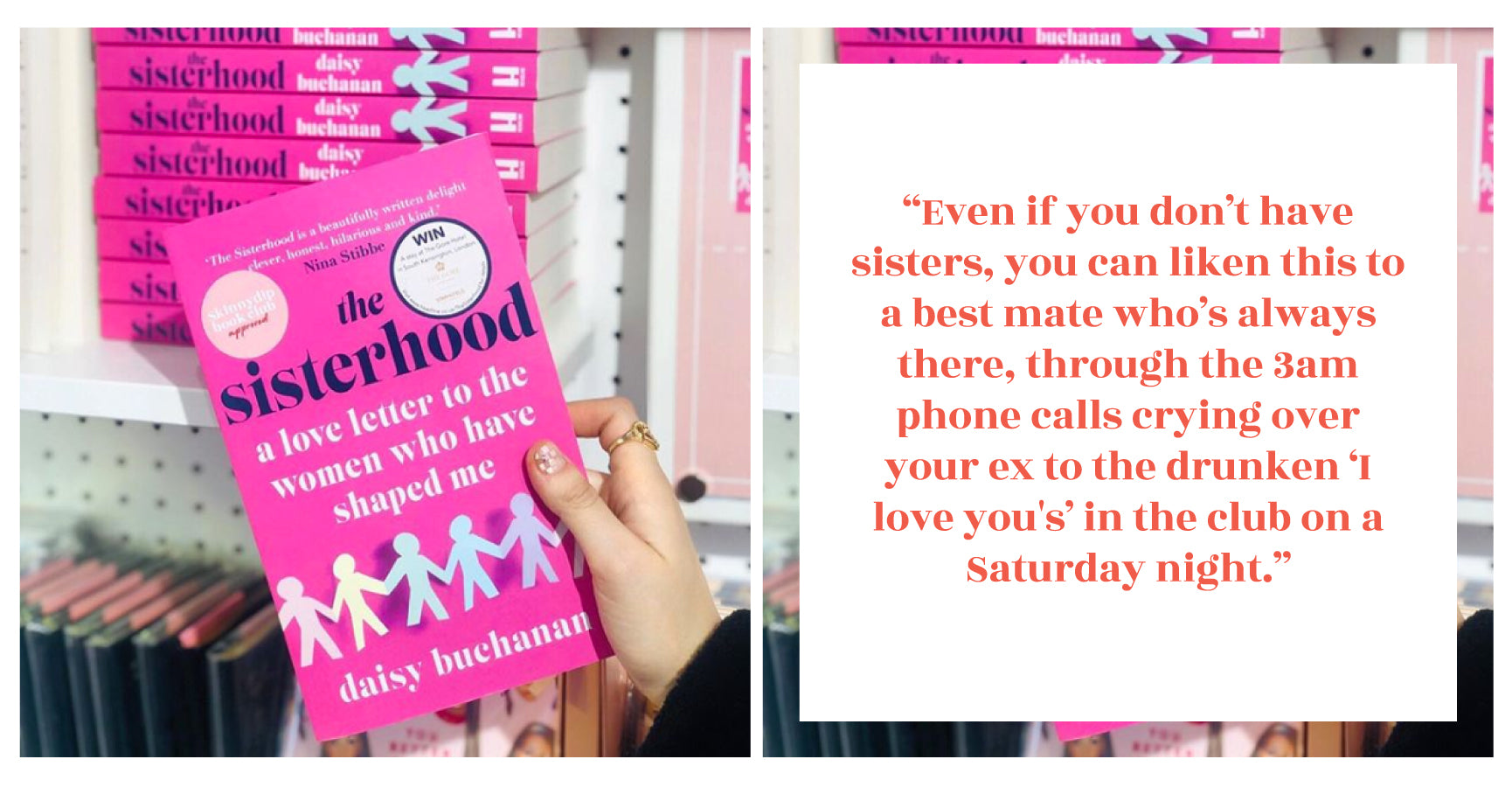 The Sisterhood Book by Daisy Buchanan | Skinnydip London