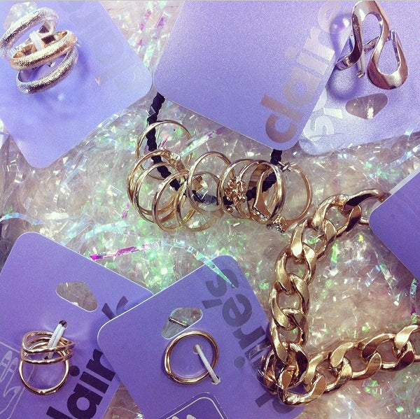 63c3c64083 Below we have teamed some of our fave Claire s pieces with Skinnydip bling