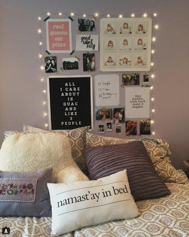 Fairy Lights | Student Room Design | Skinnydip London