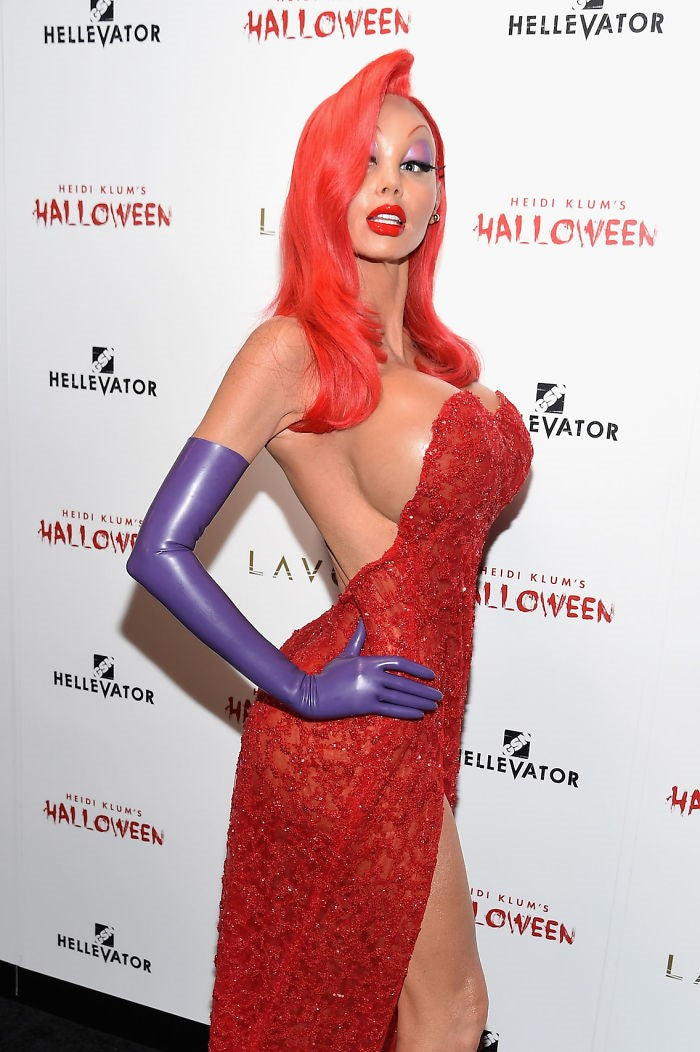 Halloween Heidi Klum Skinnydip London