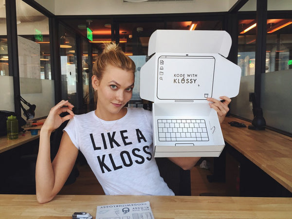 Karlie Kloss Coding | Blog Posts | Skinnydip London