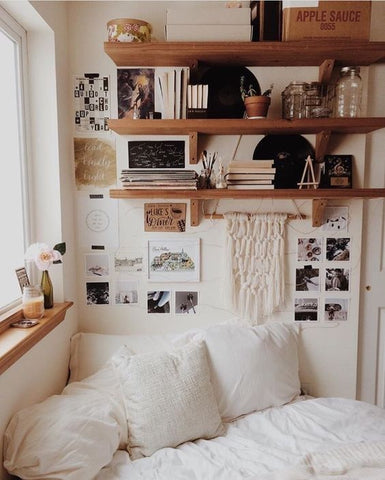 Bookshelves | Student Room Design | Skinnydip London