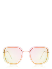 kate clear frame sunglasses