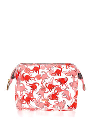 Skinnydip London Pink Dino Washbag