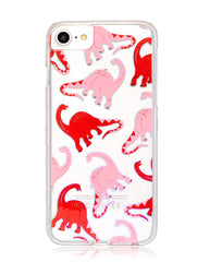 Skinnydip London Pink Dino Case