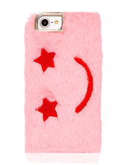 Skinnydip London Furry Smiley Case