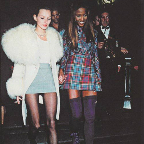 kate moss and naomi campbell 1990s