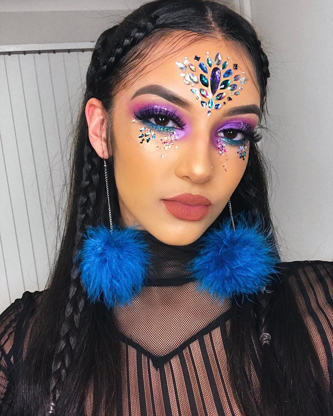 glitter makeup the gypsy shrine