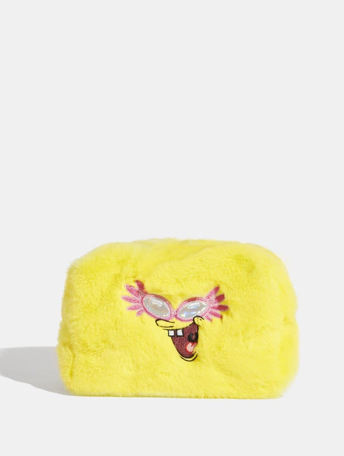 Skinnydip London | Spongebob Fur Make Up Bag - Product View 1