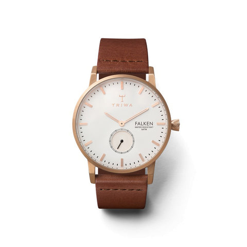 Rose Falken (Brown Strap): Featured Product Image