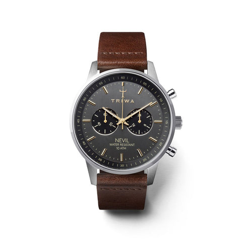 Smoky Nevil (Dark Brown Strap): Featured Product Image