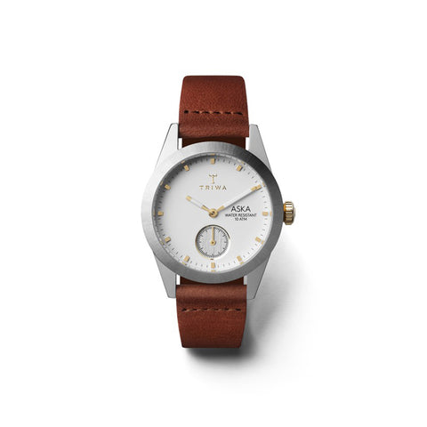 Snow Aska (Brown Strap): Featured Product Image