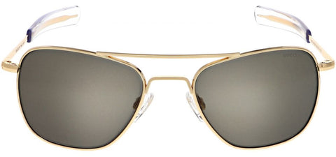 Randolph Aviator AF055 23K Gold / American Gray size 55mm: Featured Product Image