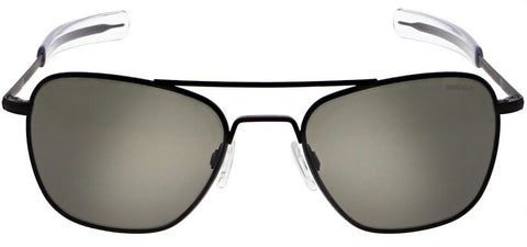 Randolph Aviator AF115 Matte Black / American Gray size 58mm: Featured Product Image