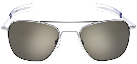 Randolph Aviator AF128 Bright Chrome / American Gray size 58mm Polarized: Featured Product Image