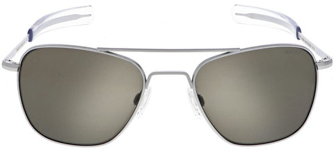 Randolph Aviator AF135 Matte Chrome / American Gray size 58mm: Featured Product Image