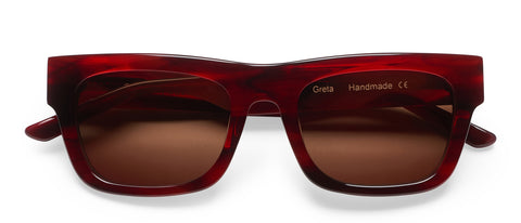 Greta Stripey Red: Featured Product Image