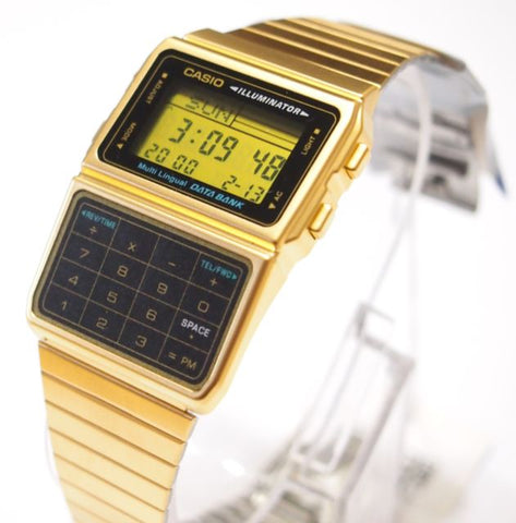 Casio Gold Databank: Featured Product Image