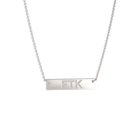 Personalized Petite Bar Necklace